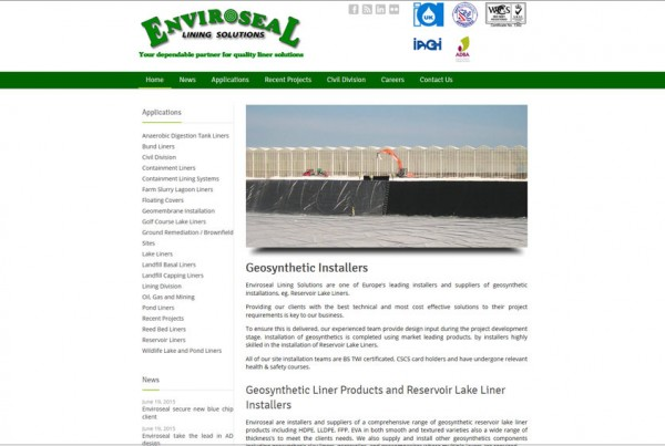 Enviroseal website